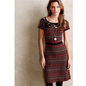 ANTHRO • sparrow fair isles sweater dress